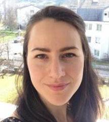 Foto von Katharina Hofer, Mitarbeiterin bei der Stiftung Gesundheit und Ernährung Schweiz